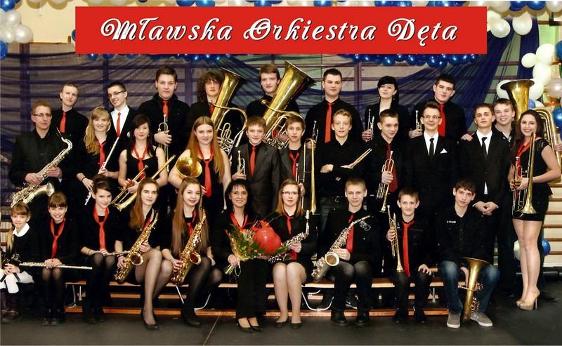 Zdjęcie orkiestry dętej