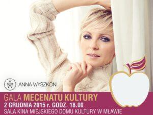 Gala Mecenatu Kultury – Koncert Anny Wyszkoni