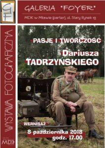 Poznaj twórczość i pasję Dariusza Tadrzyńskiego – nowa wystawa w Galerii Foyer