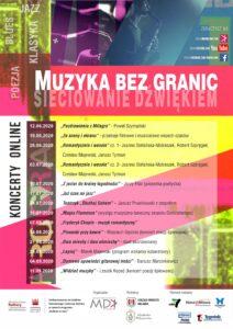 """Pierwszy koncert z cyklu """"Muzyka bez granic SIECIOWANIE DŹWIĘKIEM"""" już 12 czerwca!"""