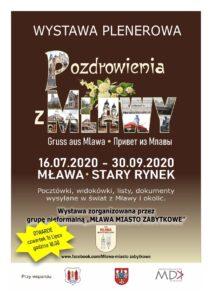 Nowa wystawa plenerowa w centrum Mławy