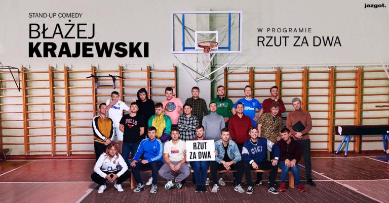 """Stand-up Błażej Krajewski """"Rzut za dwa"""""""
