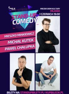 Wpadaj na występ! Stand-up Comedy w Mławie