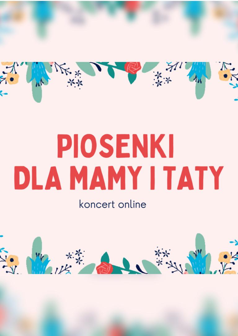 Plakat Dzień Matki