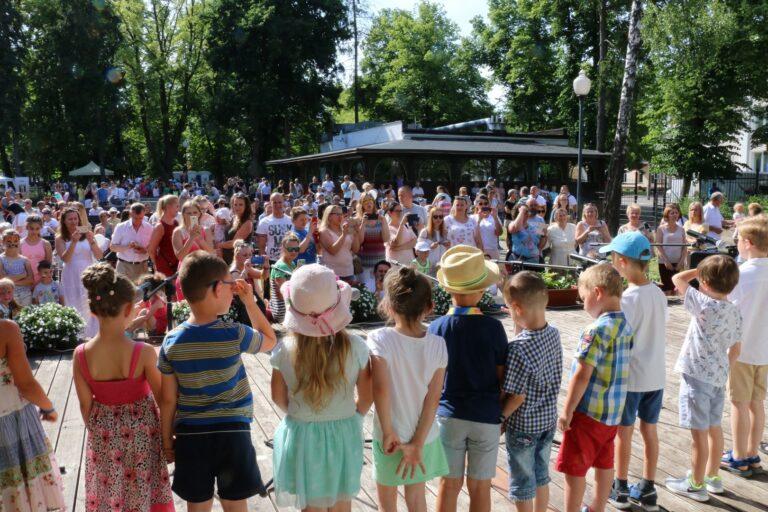 Zdjęci impreza w parku