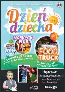 Ostatni weekend maja warto spędzić w Mławie! Dzień Dziecka 2021