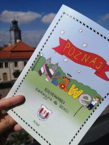 """""""Poznaj Mławę"""" NOWA KOLOROWANKA w Punkcie Informacji Turystycznej"""