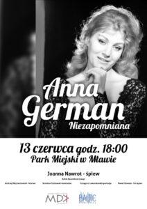 Niedzielny koncert z piosenkami Anny German