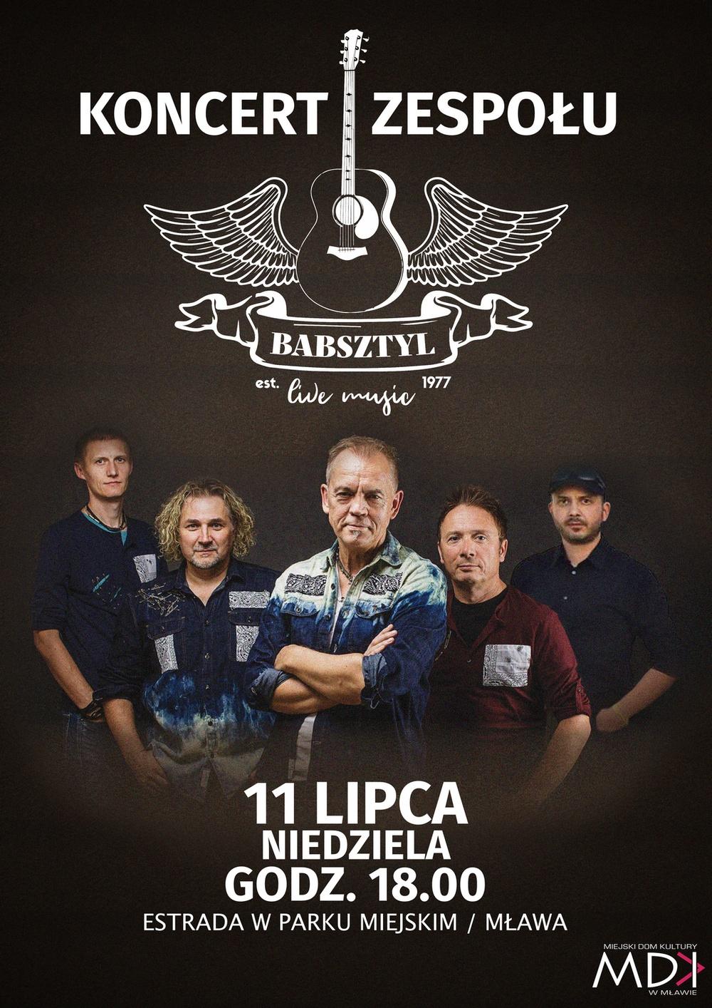 Koncert zespołu Babsztyl