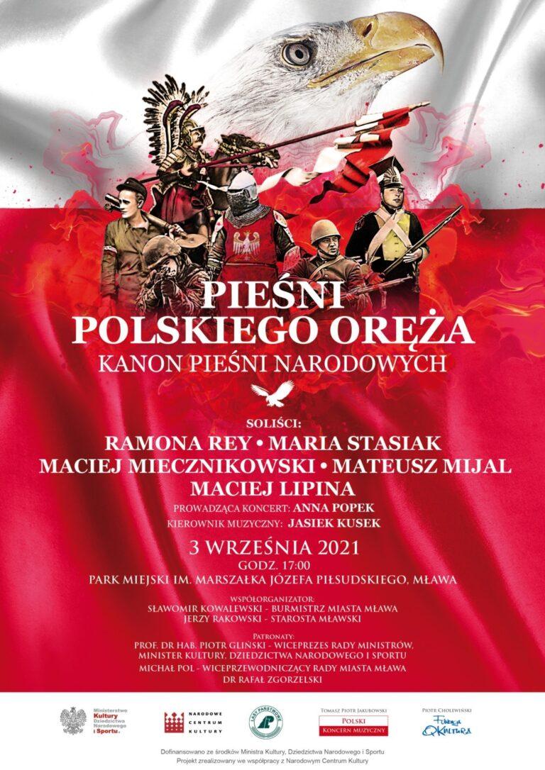 """Koncert """"Pieśni Polskiego Oręża"""""""