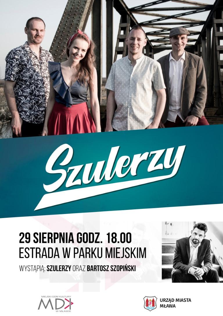 Koncert zespołu Szulerzy
