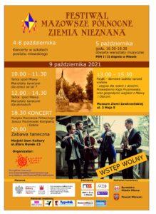 Festiwal Mazowsze Północne. Ziemia Nieznana już 9 października