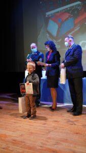 Wręczenie nagród laureatom konkursów. 140-lecie OSP w Mławie
