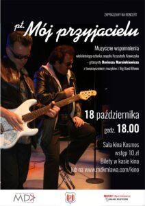 """""""Mój przyjacielu"""" – koncert z piosenkami Krzysztofa Krawczyka"""